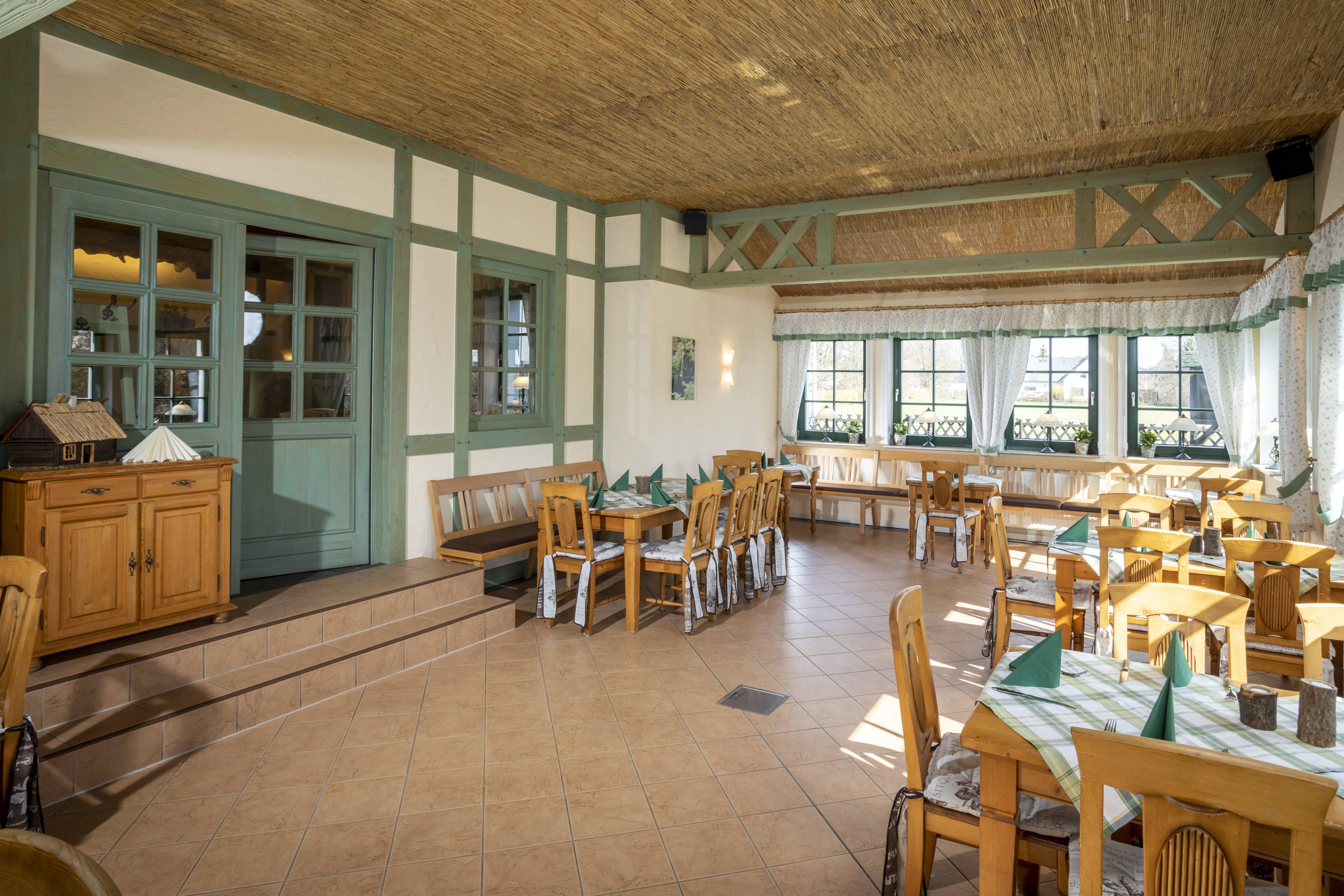 Wintergarten im Restaurant